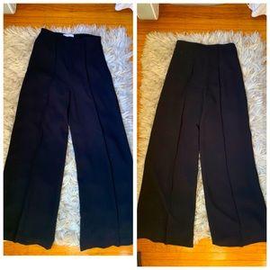Mango Wide Leg Dress Pants size 8